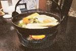 餃子鍋(しょう油味)